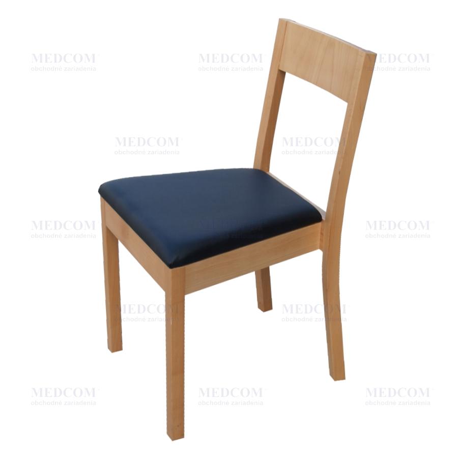 407526c41d76 Stolička drevená čalúnená